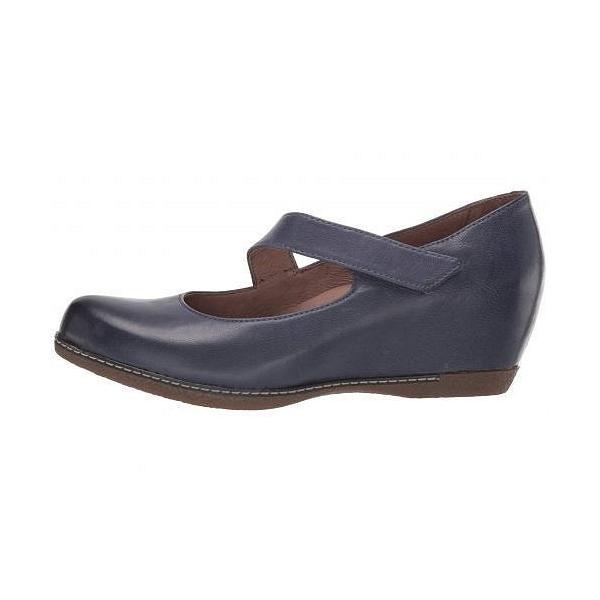 Dansko ダンスコ レディース 女性用 シューズ 靴 ヒール Lanie - Blue Burnished Nubuck