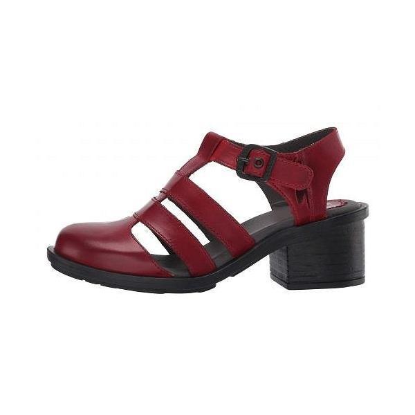 FLY LONDON フライロンドン レディース 女性用 シューズ 靴 ヒール CAHY195FLY - Red Rug