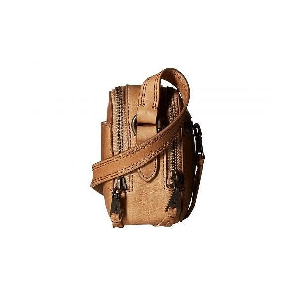 Frye フライ レディース 女性用 バッグ 鞄 バックパック リュック Zip Camera Bag - Beige Antique Soft Vintage