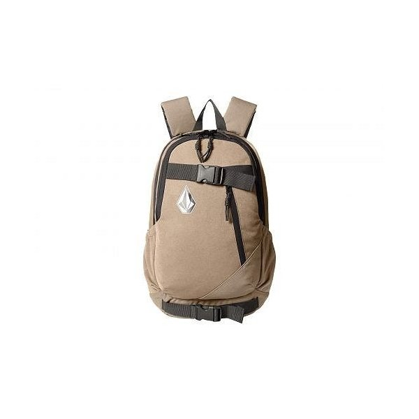 Volcom ヴォルコム メンズ 男性用 バッグ 鞄 バックパック リュック Substrate - Sand Brown