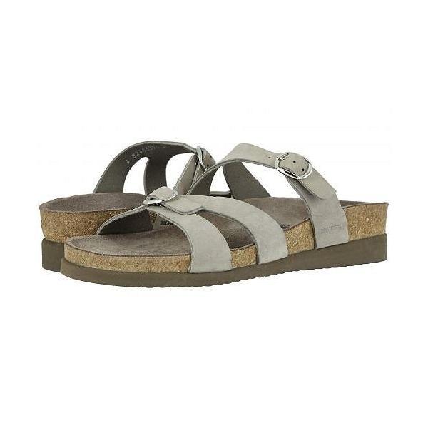 Mephisto メフィスト レディース 女性用 シューズ 靴 サンダル Hannel - Light Grey Nubuck/Taupe Bottom