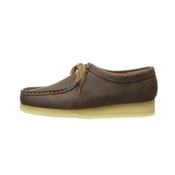 Clarks クラークス レディース 女性用 シューズ 靴 ブーツ チャッカブーツ アンクル Wallabee - Beeswax Leather 1
