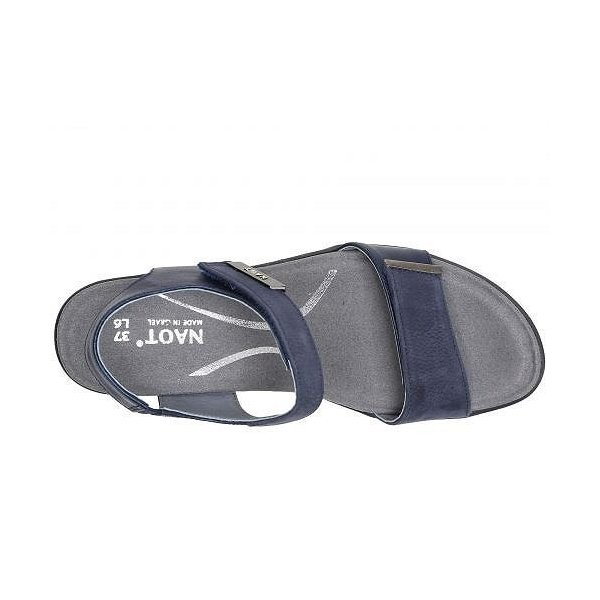Naot ナオト レディース 女性用 シューズ 靴 ヒール Intact - Navy Velvet Nubuck/Polar Sea Leather/Pewter Leather