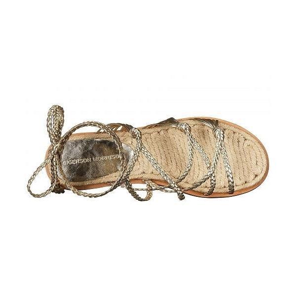 Sigerson Morrison シガーソンモリソン レディース 女性用 シューズ 靴 サンダル James - Platino Nappa Luxe