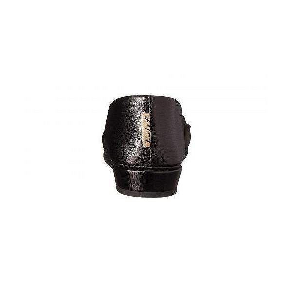 French Sole フレンチソール レディース 女性用 シューズ 靴 フラット Zeppa Flat - Black Nappa