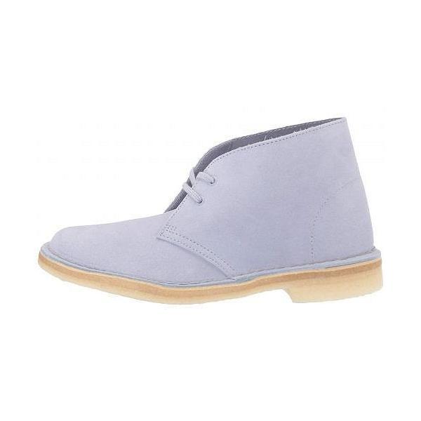 Clarks クラークス レディース 女性用 シューズ 靴 ブーツ チャッカブーツ アンクル Desert Boot - Cool Blue Suede
