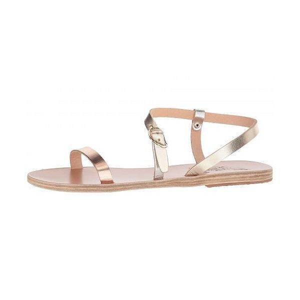 Ancient Greek Sandals レディース 女性用 シューズ 靴 サンダル Niove - Pink Metal/Silver/Platinum
