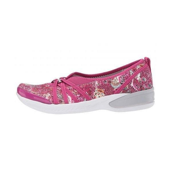 Bzees レディース 女性用 シューズ 靴 フラット Niche - Pink Paisley Print Fabric