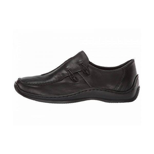 Rieker リーカー レディース 女性用 シューズ 靴 ローファー ボートシューズ L1751 Celia 51 - Black 1