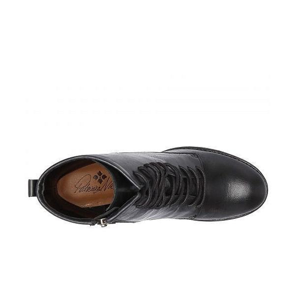 Patricia Nash パトリシアナッシュ レディース 女性用 シューズ 靴 ブーツ レースアップブーツ Sicily - Black Hand Stained Leather