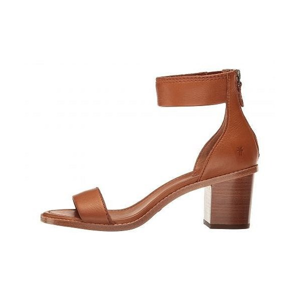 Frye フライ レディース 女性用 シューズ 靴 ヒール Brielle Back Zip - Copper Soft Full Grain