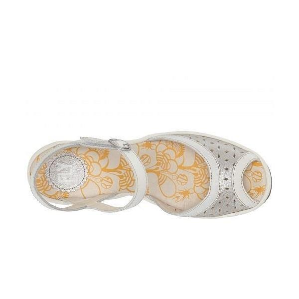 acdfc60228ffcf FLY LONDON フライロンドン レディース 女性用 シューズ 靴 ヒール YUMO027FLY - Silver/Off-White  Borgogna/Rug