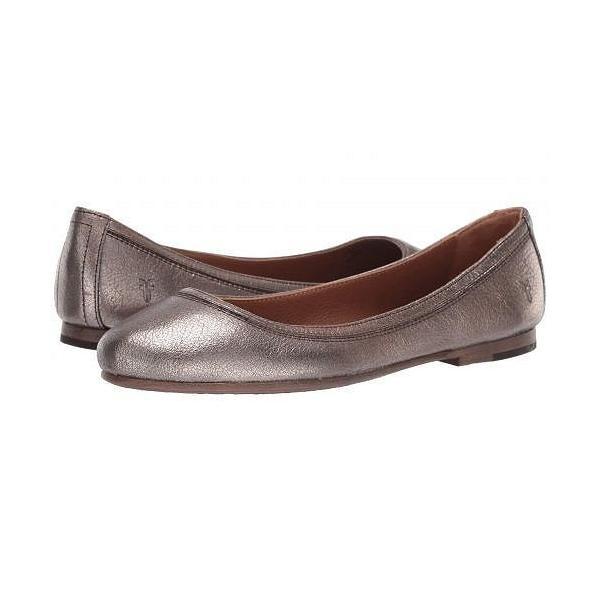 Frye フライ レディース 女性用 シューズ 靴 フラット Carson Ballet - Golden Silver Vintage Metallic