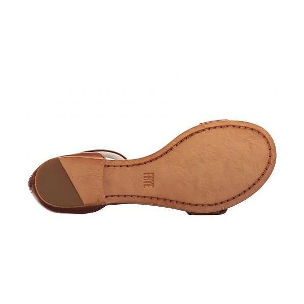 Frye フライ レディース 女性用 シューズ 靴 サンダル Carson Ankle Zip - Cognac Soft Nappa Lamb