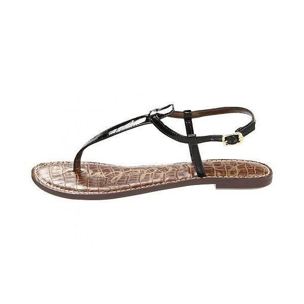 Sam Edelman サムエデルマン レディース 女性用 シューズ 靴 サンダル Gigi - Black Patent 2