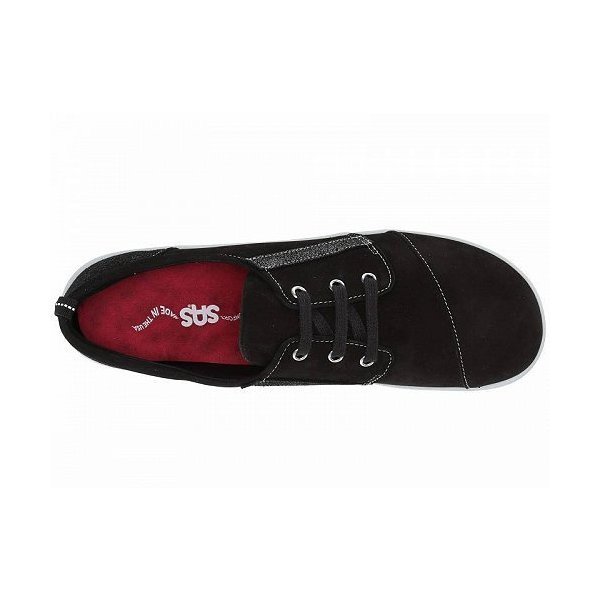 SAS サス レディース 女性用 シューズ 靴 スニーカー 運動靴 Marnie - Black/Sparkle