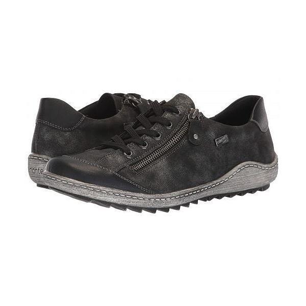 Rieker リーカー レディース 女性用 シューズ 靴 スニーカー 運動靴 R1402 Liv 02 - Schwarz/Graphit