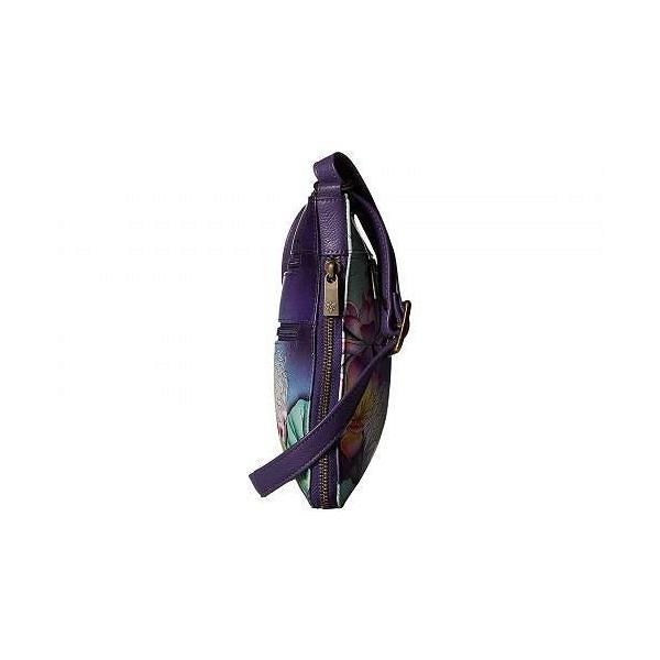 Anuschka Handbags アヌシュカハンドバッグ レディース 女性用 バッグ 鞄 バックパック リュック 550 Expandable Travel Crossbody - Peaceful Garden