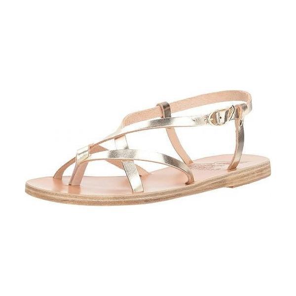 Ancient Greek Sandals レディース 女性用 シューズ 靴 サンダル Semele - Platinum Vachetta