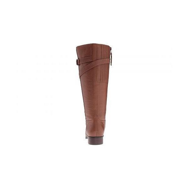 Trotters トロッターズ レディース 女性用 シューズ 靴 ブーツ ロングブーツ Lyra - Cognac Veg Tumbled Leather