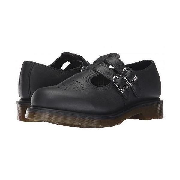 Dr. Martens ドクターマーチン レディース 女性用 シューズ 靴 ローファー ボートシューズ 8065 Mary Jane - Black Virginia