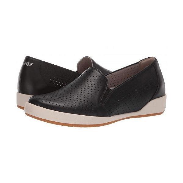 Dansko ダンスコ レディース 女性用 シューズ 靴 スニーカー 運動靴 Odina - Black Nappa