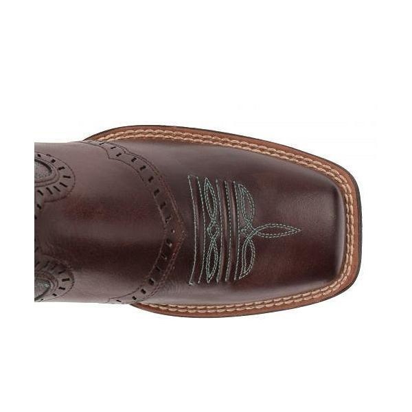Ariat アリアト レディース 女性用 シューズ 靴 ブーツ ウエスタンブーツ Round Up Remuda - Naturally Dark Brown
