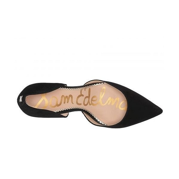 Sam Edelman サムエデルマン レディース 女性用 シューズ 靴 ヒール Jaina - Black Kid Suede Leather
