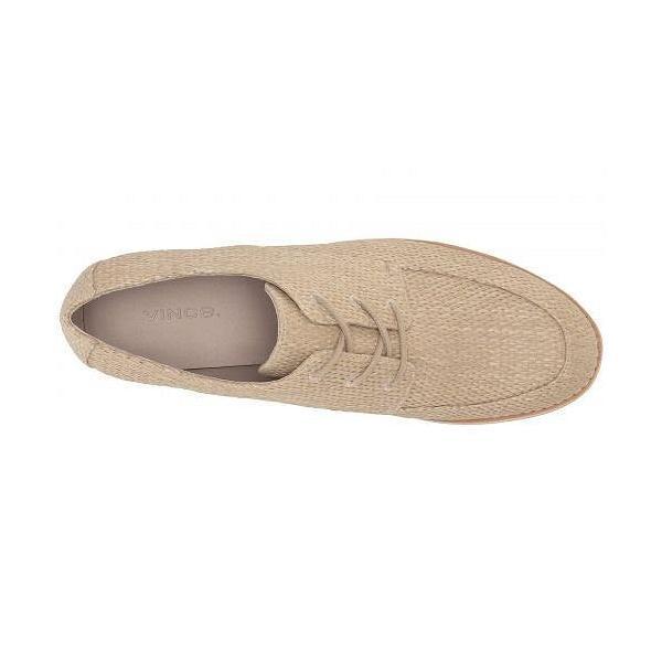 Vince ヴィンス レディース 女性用 シューズ 靴 オックスフォード 紳士靴 通勤靴 Zina - Natural Woven Raffia Fabric