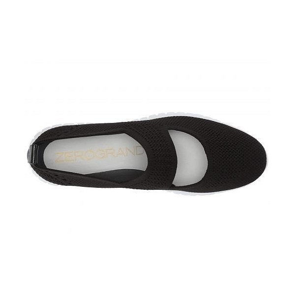 Cole Haan コールハーン レディース 女性用 シューズ 靴 スニーカー 運動靴 Zerogrand Stitchlite Cut Out Slip-On - Black Knit/Optic White
