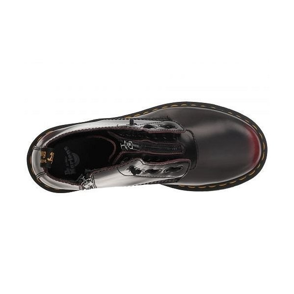 Dr. Martens ドクターマーチン レディース 女性用 シューズ 靴 ブーツ 安全靴 ワークブーツ 1460 Pascal Front Zip - Cherry Red Arcadia