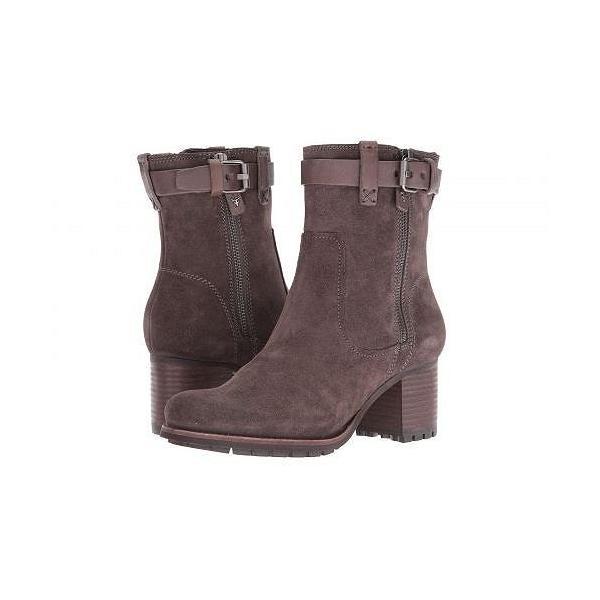 Trask トラスク レディース 女性用 シューズ 靴 ブーツ アンクルブーツ ショート Madison Waterproof - Grey Waterproof Suede/Grey