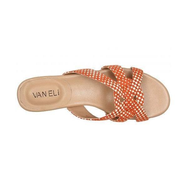 Vaneli ヴァネリ レディース 女性用 シューズ 靴 サンダル Broska - Orange/White Regie Print