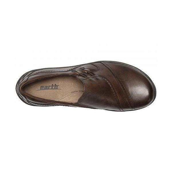 Earth アース レディース 女性用 シューズ 靴 ローファー ボートシューズ Hawk - Bark Soft Calf