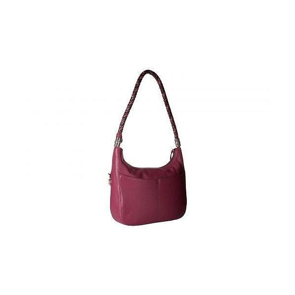 Brighton ブライトン レディース 女性用 バッグ 鞄 ホーボー ハンドバッグ Barbados Ziptop Hobo - Guavaberry