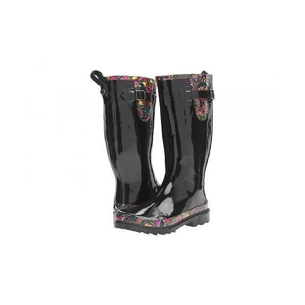 Sakroots レディース 女性用 シューズ 靴 ブーツ レインブーツ Rhythm - Black/Rainbow Spirit Desert