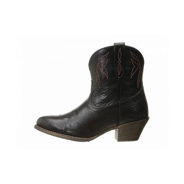 Ariat アリアト レディース 女性用 シューズ 靴 ブーツ ウエスタンブーツ Darlin - Old Black