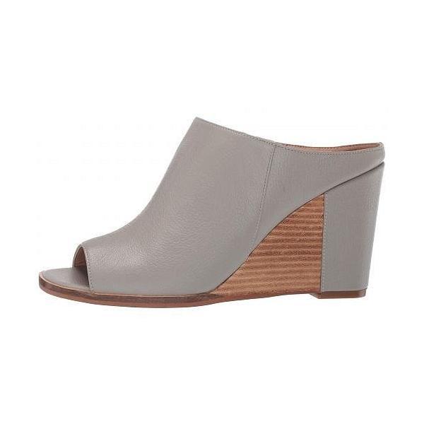 LINEA Paolo レディース 女性用 シューズ 靴 ヒール Gaia Wedge Heel - Grey Grainy Goat Leather