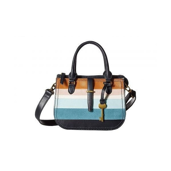 Fossil フォッシル レディース 女性用 バッグ 鞄 ハンドバッグ サッチェル Ryder Mini Satchel - Colorful Stripes