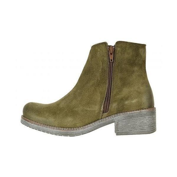Naot ナオト レディース 女性用 シューズ 靴 ブーツ アンクルブーツ ショート Wander - Brushed Oily Olive Suede