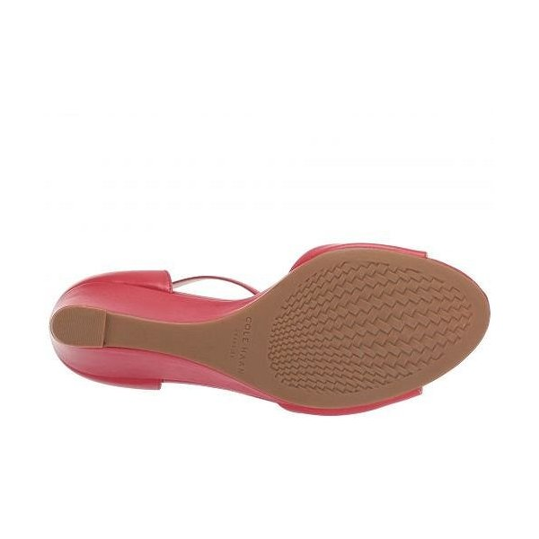 Cole Haan コールハーン レディース 女性用 シューズ 靴 ヒール Tali Grand Bow Wedge 65 - Barbados Cherry Leather