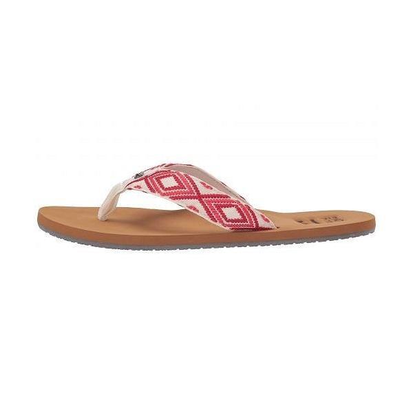 Billabong ビラボン レディース 女性用 シューズ 靴 サンダル Baja - Sunset Red 2