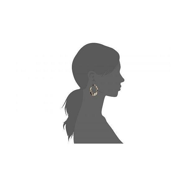 Alexis Bittar アレクシス ビッター レディース 女性用 ジュエリー 宝飾品 イヤリング Crumpled Hoop Earrings - 10K Gold