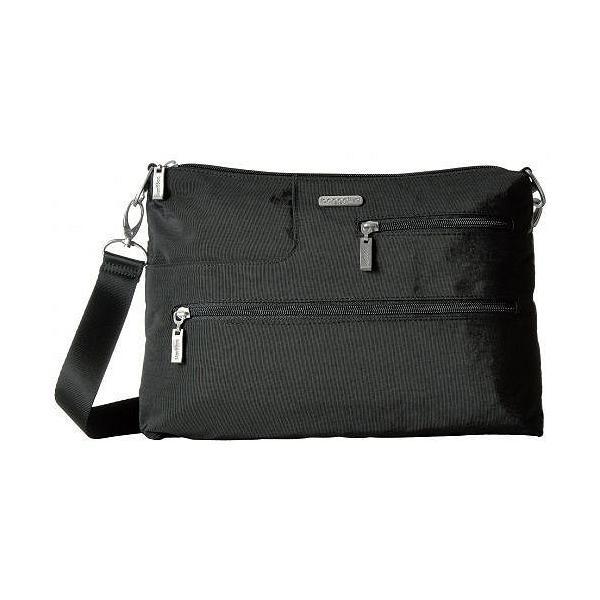 Baggallini バッガリーニ レディース 女性用 バッグ 鞄 バックパック リュック Tablet Crossbody - Black With Sand Lining