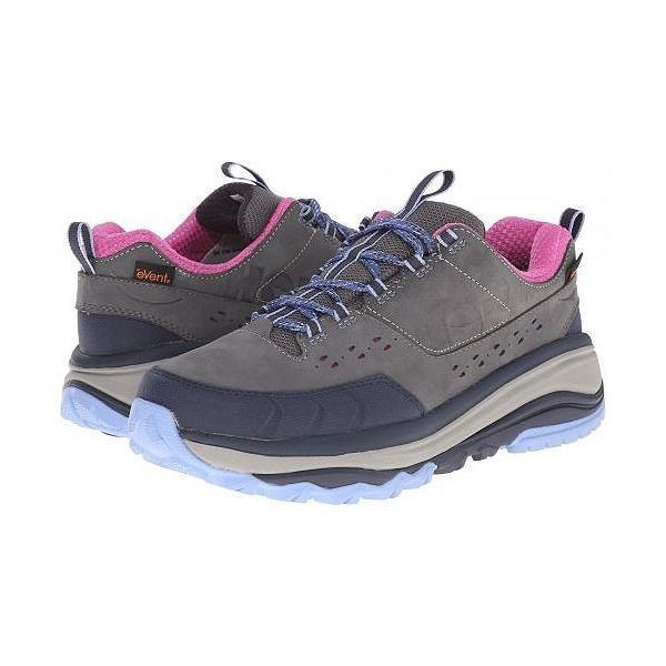 Hoka One One ホカオネオネ レディース 女性用 シューズ 靴 スニーカー 運動靴 Tor Summit WP - Steel Grey/Hydrangea