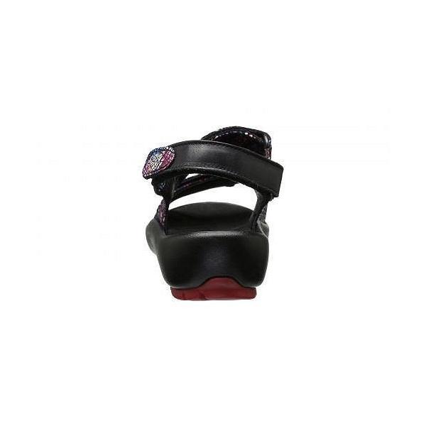 Wolky ウォーキー レディース 女性用 シューズ 靴 サンダル Rio - Multi Black Crash