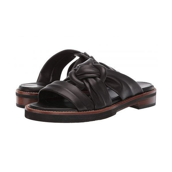 Aquatalia アクアタリア レディース 女性用 シューズ 靴 サンダル Harley - Black Nappa