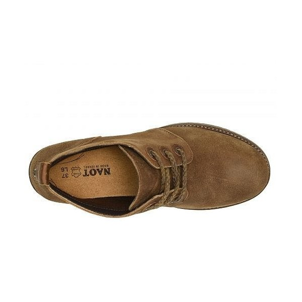 Naot ナオト レディース 女性用 シューズ 靴 ブーツ アンクルブーツ ショート Love - Antique Brown Suede/Saddle Brown Leather