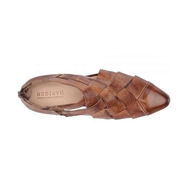 Bed Stu ベッドストゥ レディース 女性用 シューズ 靴 ブーツ アンクルブーツ ショート Brittany - Tan Dip-Dye