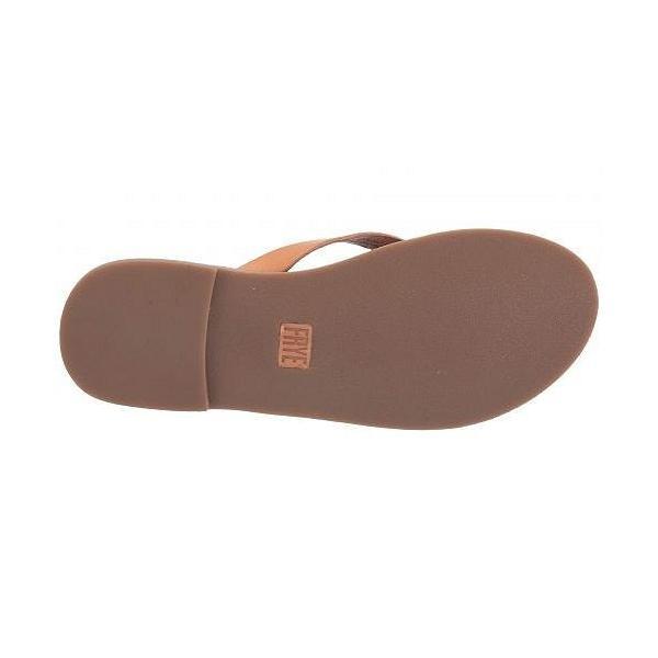 Frye フライ レディース 女性用 シューズ 靴 サンダル Azalea Logo Flip-Flop - Sand Antique Veg Tan